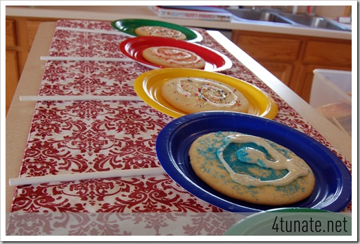 lollipop cookies for birthday party