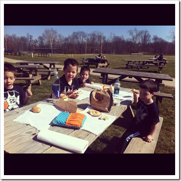 einstein brothers bagels 6 pack picnic lunch