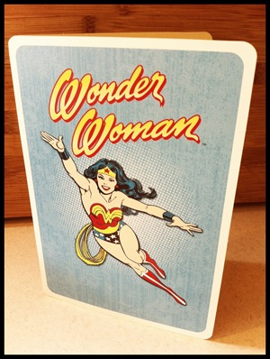 wonder woman motherhood card