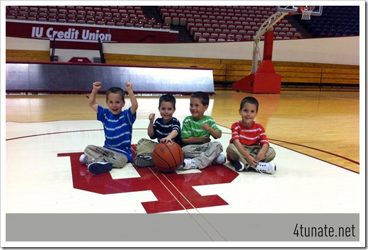 center court indiana basketball photo