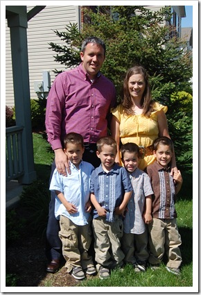 easter family picture