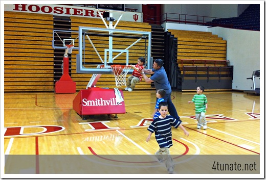 iu dunk basketball
