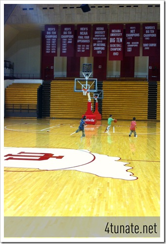 shooting warm ups indiana basketball