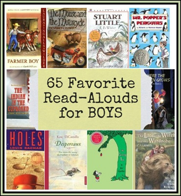 65 Read-Aloud Books for Boys
