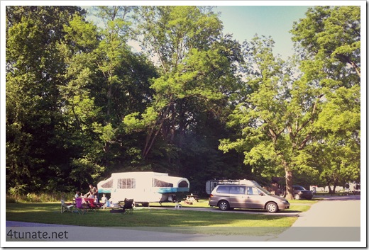 campgrounds at turkey run state park