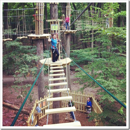 go ape eagle creek treetop adventure
