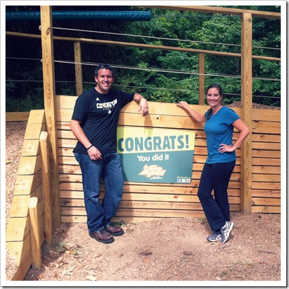 go ape zip line course indiana