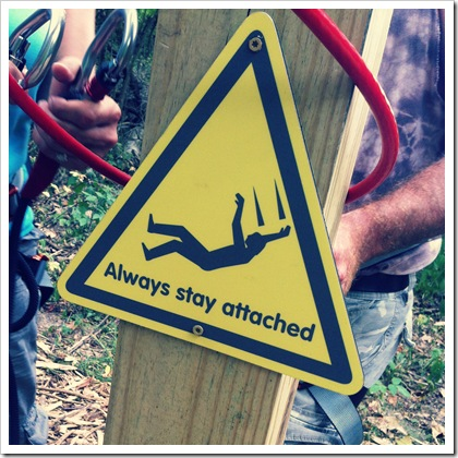 safety rules zip line go ape course