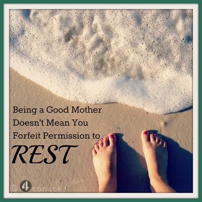 finding rest in motherhood