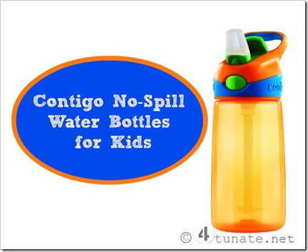 contigo no spill water bottles for kids spill proof