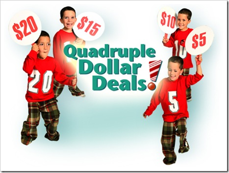 quadruple dollar deals