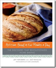 artisian bread in five minutes a day - jeff hertzberg and zoe fancois