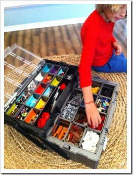 diy lego storage and organization