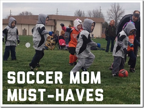 land o'moms april post soccer mom must-haves