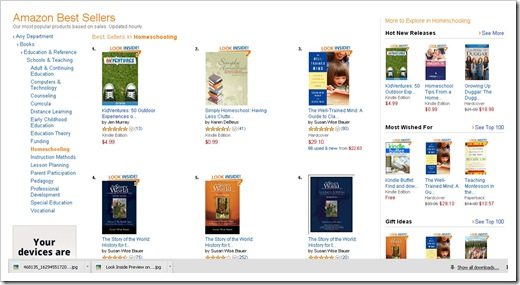 KidVentures #1 for Amazon Homeschool Books