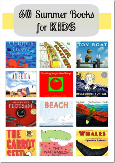60 Summer Picture Books for Kids