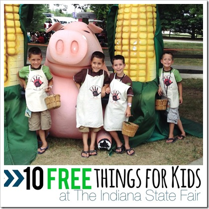10 free things for kids at the indiana state fair