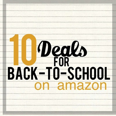best back to school deals on amazon