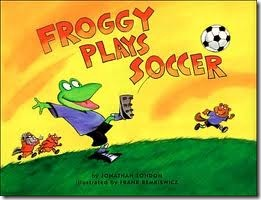 favorite library books - Froggy Plays Soccer