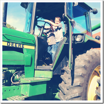 learning to drive a tractor