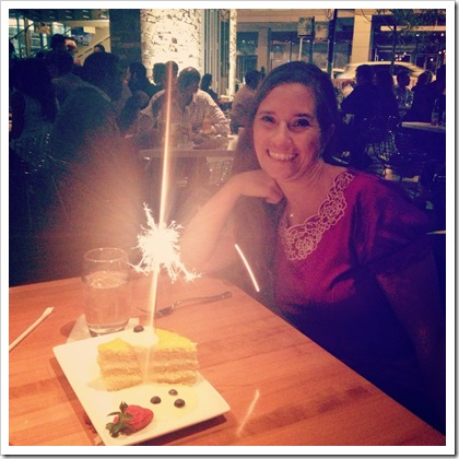 Cantina Loredo Chicago Sparkler for Your Birthday