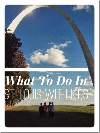 What to Do In St. Louis With Kids