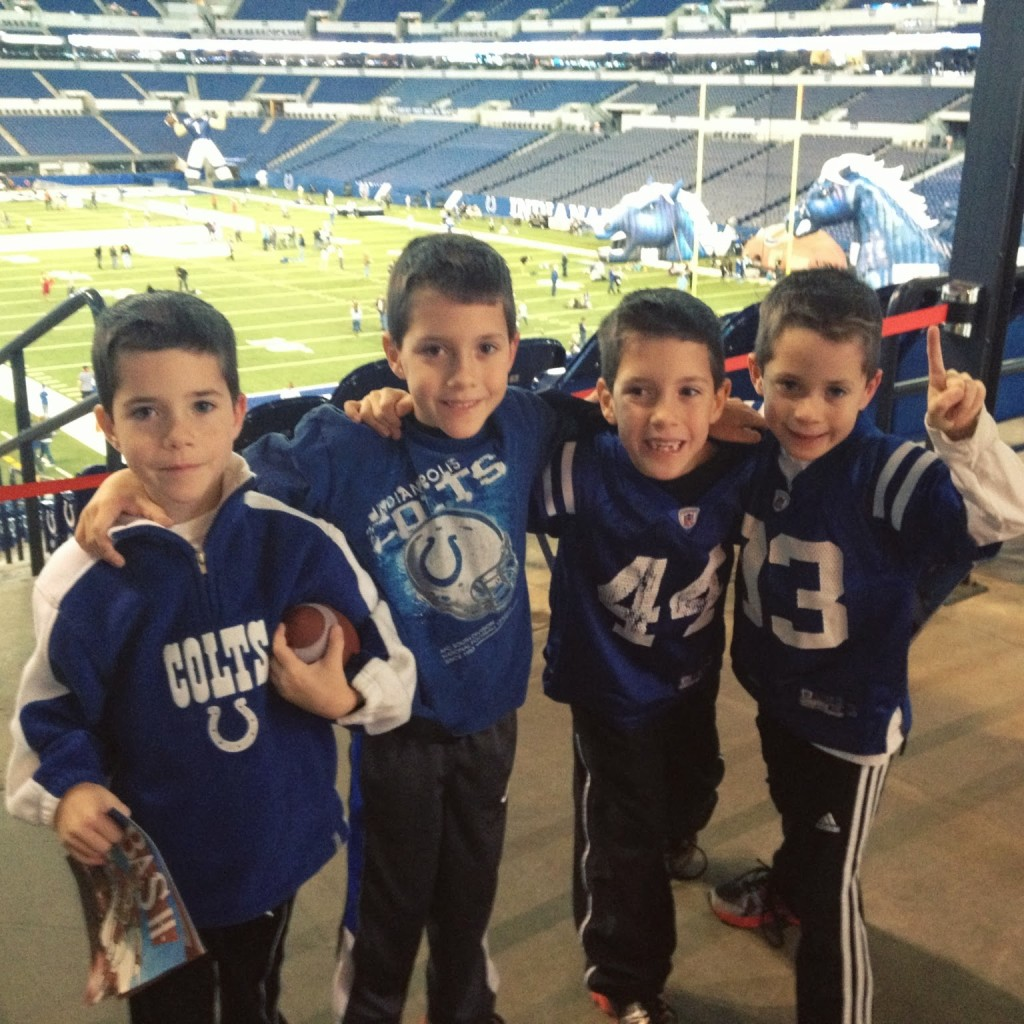 colts bleed blue event lucas oil stadium
