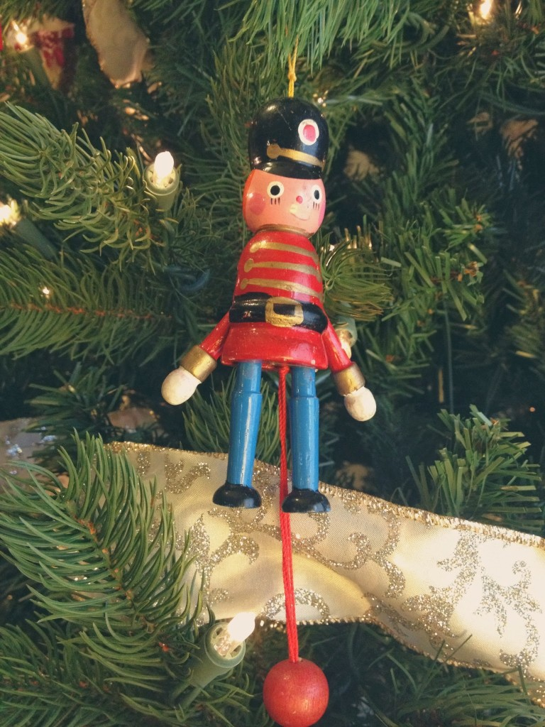 nutcracker christmas ornament toy solider