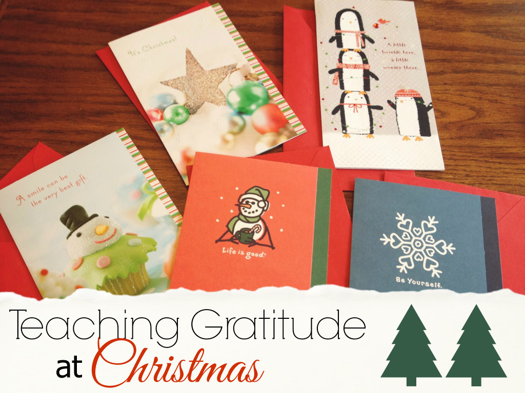 teaching gratitude at christmas hallmark